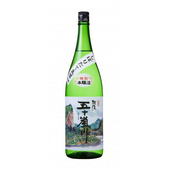 しぼりたて生酒 特別本醸造 越後五十嵐川/1800ml