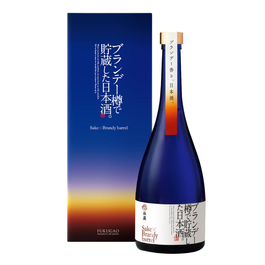ブランデー樽で貯蔵した日本酒。FUKUGAO