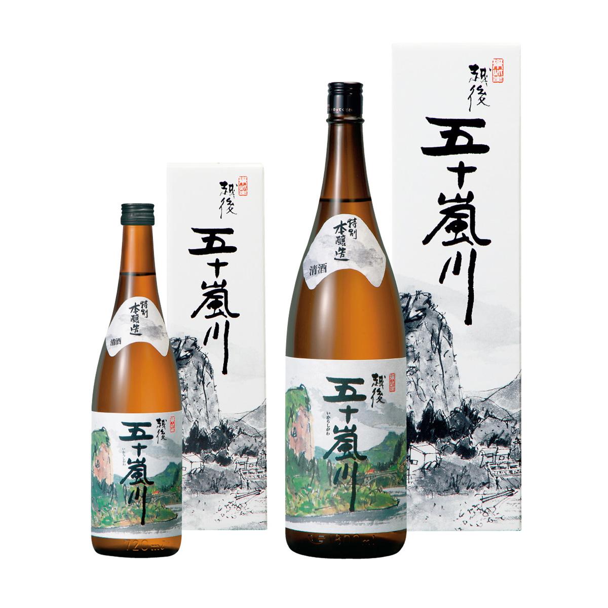 特別本醸造酒 越後五十嵐川