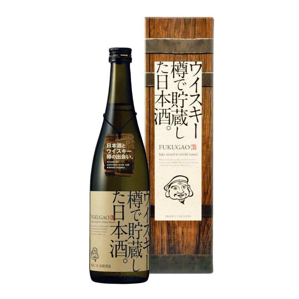 ウイスキー樽で貯蔵した日本酒。FUKUGAO